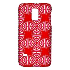 Retro Red Pattern Galaxy S5 Mini