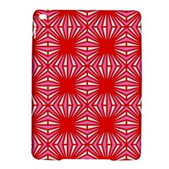 Retro Red Pattern iPad Air 2 Hardshell Cases