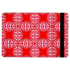 Retro Red Pattern iPad Air 2 Flip