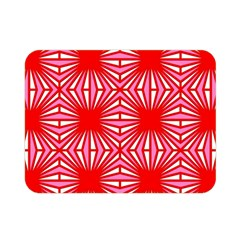 Retro Red Pattern Double Sided Flano Blanket (Mini)