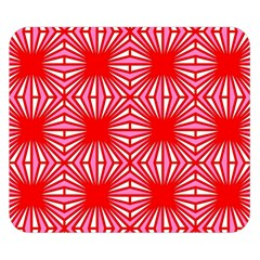 Retro Red Pattern Double Sided Flano Blanket (Small)