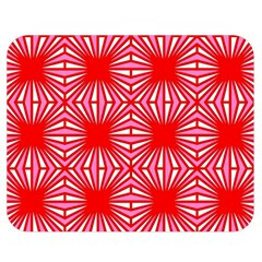 Retro Red Pattern Double Sided Flano Blanket (Medium)