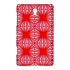 Retro Red Pattern Samsung Galaxy Tab S (8.4 ) Hardshell Case