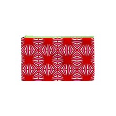 Retro Red Pattern Cosmetic Bag (XS)