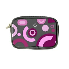 Grey Plum Abstract Pattern  Coin Purse