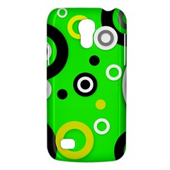 Florescent Green Yellow Abstract  Galaxy S4 Mini