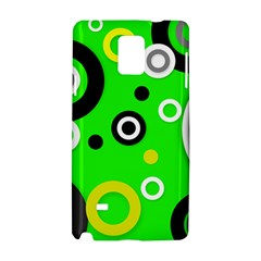 Florescent Green Yellow Abstract  Samsung Galaxy Note 4 Hardshell Case