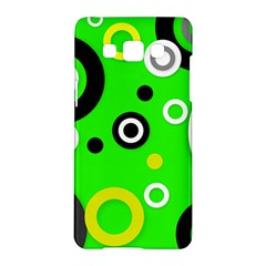 Florescent Green Yellow Abstract  Samsung Galaxy A5 Hardshell Case