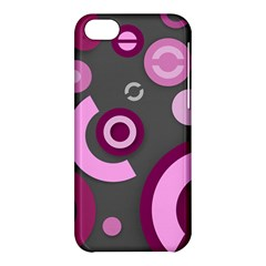 Pink Purple Abstract Iphone Cases  Apple Iphone 5c Hardshell Case