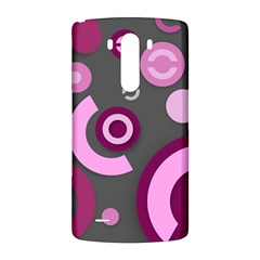Pink Purple Abstract iPhone cases  LG G3 Back Case
