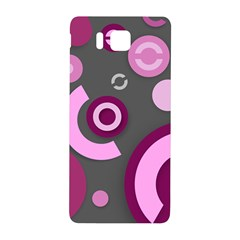 Pink Purple Abstract iPhone cases  Samsung Galaxy Alpha Hardshell Back Case