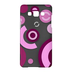 Pink Purple Abstract Iphone Cases  Samsung Galaxy A5 Hardshell Case