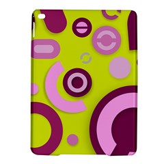Florescent Yellow Pink Abstract  iPad Air 2 Hardshell Cases
