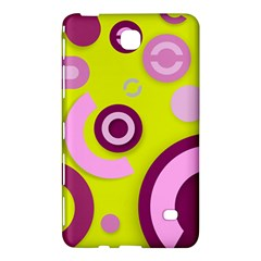 Florescent Yellow Pink Abstract  Samsung Galaxy Tab 4 (8 ) Hardshell Case