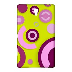 Florescent Yellow Pink Abstract  Samsung Galaxy Tab S (8.4 ) Hardshell Case