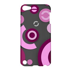 Pink Purple Abstract Cases Apple Ipod Touch 5 Hardshell Case