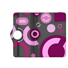 Pink Purple Abstract Cases Kindle Fire HDX 8.9  Flip 360 Case
