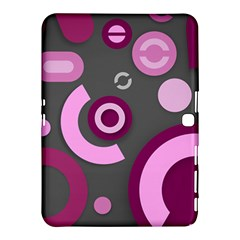 Pink Purple Abstract Cases Samsung Galaxy Tab 4 (10 1 ) Hardshell Case