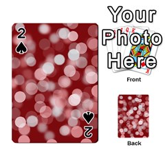 Modern Bokeh 11 Playing Cards 54 Designs