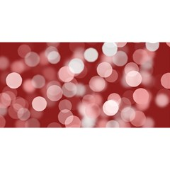 Modern Bokeh 11 You Are Invited 3d Greeting Card (8x4)
