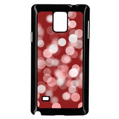 Modern Bokeh 11 Samsung Galaxy Note 4 Case (black)