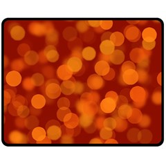 Modern Bokeh 12 Fleece Blanket (medium)