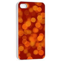 Modern Bokeh 12 Apple Iphone 4/4s Seamless Case (white)