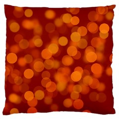 Modern Bokeh 12 Large Flano Cushion Cases (Two Sides)