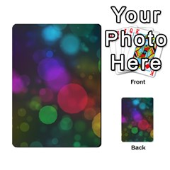 Modern Bokeh 15 Multi-purpose Cards (Rectangle)