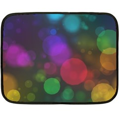 Modern Bokeh 15 Fleece Blanket (mini)