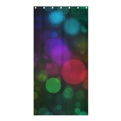 Modern Bokeh 15 Shower Curtain 36  x 72  (Stall)