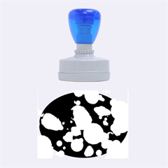 Modern Bokeh 15 Rubber Oval Stamps