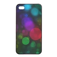 Modern Bokeh 15 Apple iPhone 4/4s Seamless Case (Black)