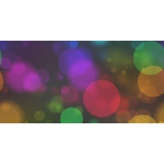 Modern Bokeh 15 YOU ARE INVITED 3D Greeting Card (8x4)