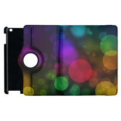 Modern Bokeh 15 Apple Ipad 3/4 Flip 360 Case