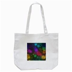 Modern Bokeh 15 Tote Bag (white)