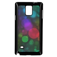 Modern Bokeh 15 Samsung Galaxy Note 4 Case (Black)