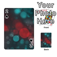 Modern Bokeh 15b Playing Cards 54 Designs