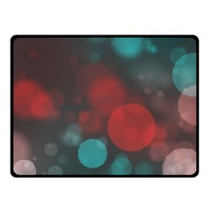 Modern Bokeh 15b Fleece Blanket (small)