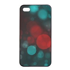 Modern Bokeh 15b Apple iPhone 4/4s Seamless Case (Black)