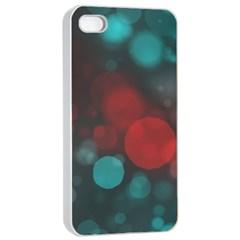 Modern Bokeh 15b Apple Iphone 4/4s Seamless Case (white)