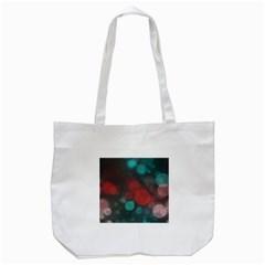 Modern Bokeh 15b Tote Bag (white)