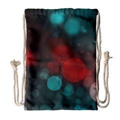 Modern Bokeh 15b Drawstring Bag (Large)