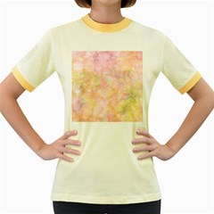 Softly Lights, Bokeh Women s Fitted Ringer T-Shirts