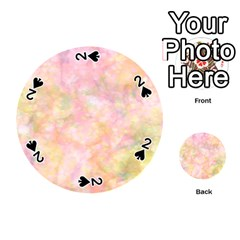 Softly Lights, Bokeh Playing Cards 54 (round)