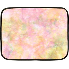 Softly Lights, Bokeh Fleece Blanket (Mini)