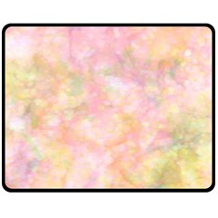 Softly Lights, Bokeh Fleece Blanket (Medium)