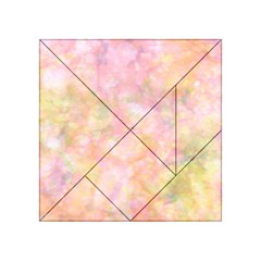 Softly Lights, Bokeh Acrylic Tangram Puzzle (4  X 4 )