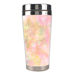 Softly Lights, Bokeh Stainless Steel Travel Tumblers