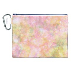 Softly Lights, Bokeh Canvas Cosmetic Bag (XXL)